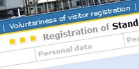 Visitor registration